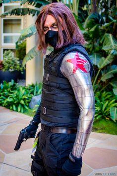 Winter Soldier | ALA 2014 #Marvel #Cosplay