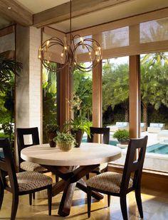 pool view & large window