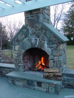 Outdoor Fireplace Kits  Makes Installation Easy for Contractors  Outdoors  Pinterest