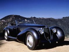 Alfa Romeo 8C 2900B Pinin Farina Cabriolet 1937