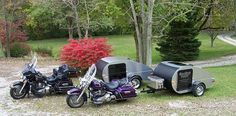 goldwing with teardrop camper - Google Search