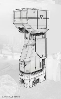 ArtStation - HALO - Harvest Assets, Studio Qube