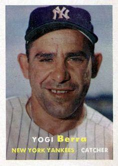 2 - Yogi Berra - New York Yankees
