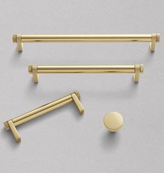 West Slope Drawer Pull - 8in. 8in. Centers - Polished Nickel & Oil-Rubbed Bronze