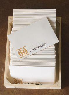 60th Birthday Party { 60 Memories }