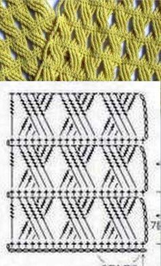 cable crochet stitch - there is also a video in Russian (you don't have to…