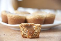 Salted Caramel Peanut Butter Cookie Cups