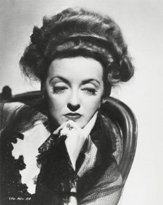 """Bette Davis ~ (1908 – 1989) from the motion picture, """"The Little Foxes"""" (1941)"""