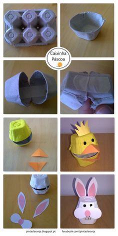 Actividades criativas para crianças, Expressão plástica, Jogos, Reutilização de materiais e reciclagem