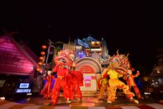 Special show wishing guests a prosperous new year  #PhuketFantaSea #ChineseNewYear #phuket #thailand #show