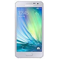 Samsung Galaxy A3 smartphone white