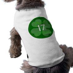 #StPatricksDay #Clover #4Leaf #Luck #irish #Ireland #Pride #IrishPride #faith #Green #StPattyDay #PetClothing
