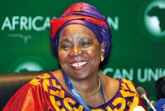 Nkosazana Dlamini-Zuma - South African politician and first woman to head the African Union Commission