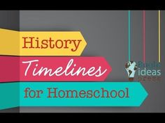 History Timelines for Homeschool: Why, How, and What; a live hangout recorded to YouTube