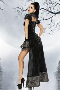 Vampirinkostüm Luxuskostüm Vampkostüm, Halloween Kostüm Vampirin