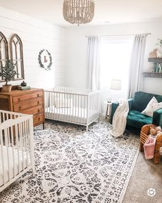 All about the details Nursery Goals Photo by House On featuring our Megargel MEG Area Rug All about the details Nursery Goals Photo by House On featuring our Megargel MEG Area Rug Boutique Rugs boutiquerugs nbsp hellip Baby Bedroom, Baby Boy Rooms, Baby Boy Nurseries, Baby Room Decor, Nursery Twins, Nursery Room, Nursery Decor, Nursery Ideas, Nursery Area Rug