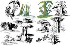 ArtStation - ONCE UPON A MONSTER - Environment Concepts, Razmig Mavlian