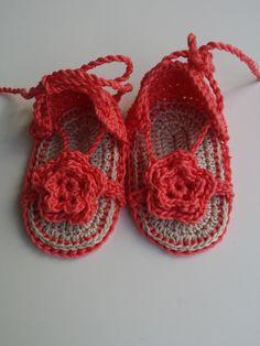 Sandali bimba sandali neonata scarpe bimba sandali di Notforeat