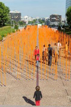 PHOTOS - Partez tester le mobilier urbain de demain à la Défense (Hauts-de-Seine) – metronews