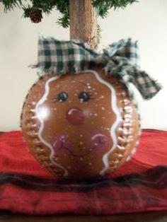 Ginger softball