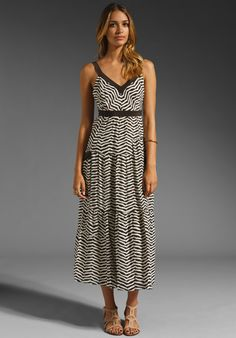MARC BY MARC JACOBS Zora Stripe Dress in Licorice Multi at Revolve Clothing - Free Shipping!