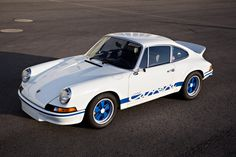 1973 Porsche 911 Carrera 2.7 RS Lightweight. The perfect Sunday morning run up the canyon for coffee car.