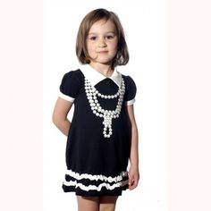Pearl Necklace Dress