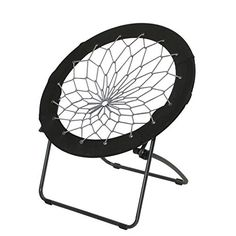 Super-Bungee Chair Only From Brookstone—Buy Now! Bungee Chair, Mini Chair, Home Bar Furniture, Patio Seating, Cool Chairs, Desk Chairs, Dining Chairs, Folding Chair, Living Room Chairs