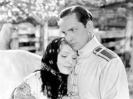 "Fredric March and Anna Sten in "" We Live Again, ""1934"