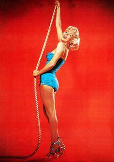 Marilyn Monroe by Bert Reisfeld (1953)