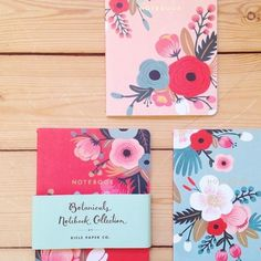 Sweet Briar Notebooks #anthrofave