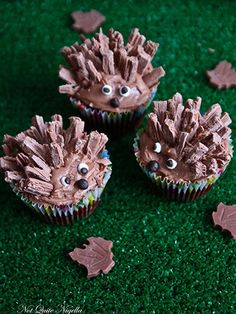 Nothing is cuter than a hedgehog—except one in cupcake form.