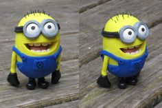 Stuart the Despicable Minion made with Polymer clay