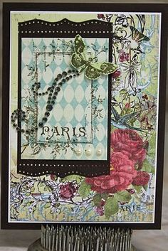 {provencial collection} iron orchid designs by unity stamp company - card created by unity design team member christi snow
