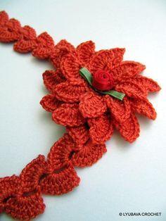 crochet pineapple stitch layered - Google Search