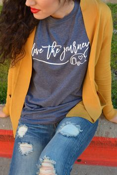 Love The Journey Tee – LaRue Chic Boutique