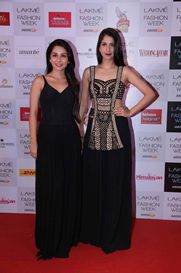 Sonaakshi Raaj at #LakmeFashionWeek #WinterFestive 2014. Such awesomeness at the Red Carpet, wonder what awaits us at the main event.