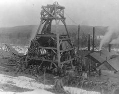 Iron Mining in Michigan, circa 1890.
