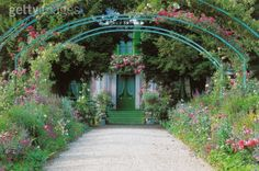 I would like to wander around Claude Monet's house and gardens in France.
