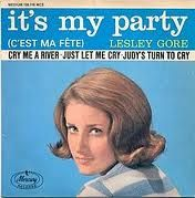 Lesley Gore - she was one of my very favorite singers.  I love her voice.