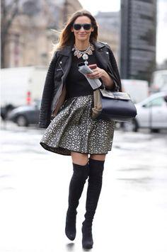 Toda Charmosa: Inspiração Fashion | Over The Knee Boots (Cuissardes)