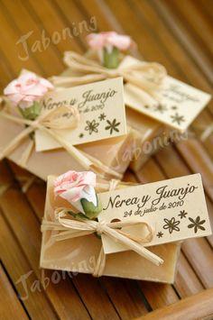 Detalles de boda - Wedding favors