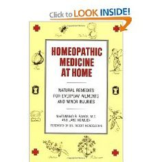 Homeopathic Medicine At Home $11.08- the first review on amazon was really helpful
