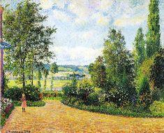 62_pissarro_jardin_mirbeau_aux_damps