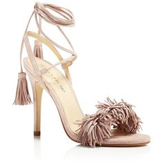 Ivanka Trump Hettie High Heel Sandals (2630590 BYR) ❤ liked on Polyvore  featuring shoes