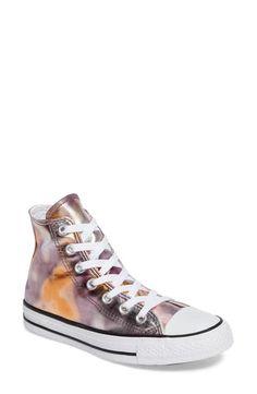 78633f8f1397 Converse Chuck Taylor® All Star® Metallic Hi Sneaker (Women) Canvas Sneakers