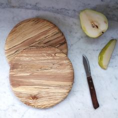 Image of Spalted Sycamore Single Serve Cutting & Serving Board