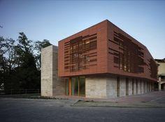 La Biblioteca Comunale di Greve progettata dallo studio MDU Architetti