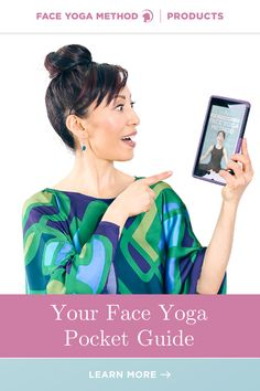 The only Face Yoga pocket guide you'll ever need! #faceyoga Facial Yoga, Facial Muscles, Face Yoga Method, Face Yoga Exercises, Nasolabial Folds, Acupressure Points, Proper Diet, Jawline, Yoga Fitness