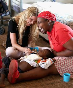 Joss Stone supports Prince Harry's charity in Lesotho